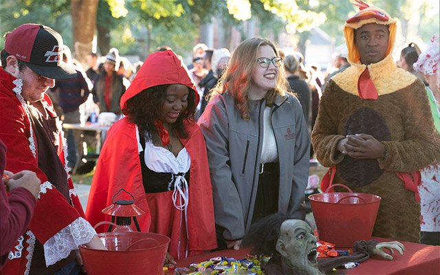 Drive through for Henderson Halloween Oct. 30