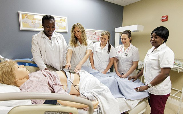 Nursing class achieves 100 percent pass rate