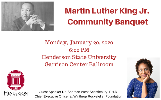 Martin Luther King Day Community Banquet