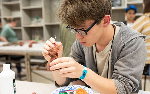 Summer Intensive Teen Art Workshop