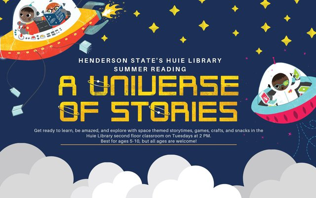 Huie Library Children's Summer Reading 2019
